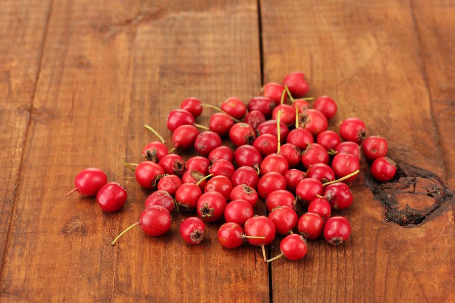 Фото 8: Плоды боярышника лежат на столе