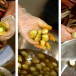 Фото 73: Чистка зеленых грецких орехов