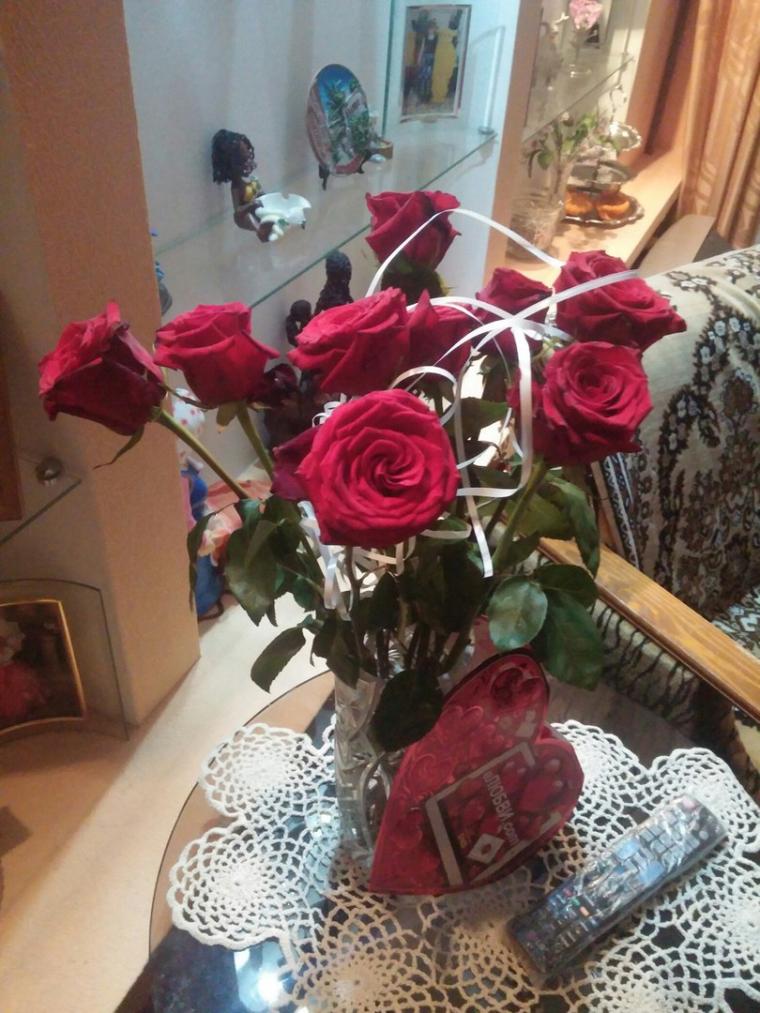 Как сделать что бы розы стояли 393