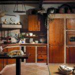 Фото 82: Кухня в деревенском стиле