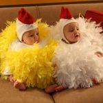 Фото 51: Костюмчики цыплят для малышей