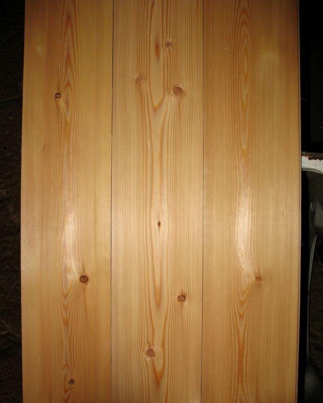 Пример доски из лиственницы