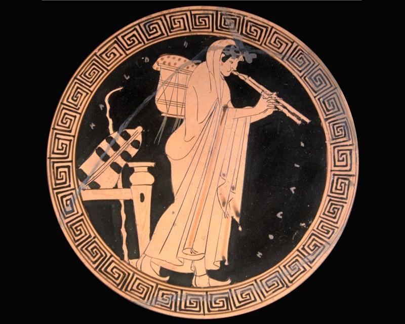 Флейта Афины из самшита