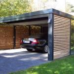 Фото 7: Дизайн гаража с вагонкой