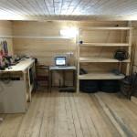 Фото 8: Интерьер деревянного гаража