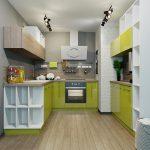 Фото 68: Кухонный гарнитур