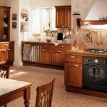 Фото 85: Классическая кухня-гостиная