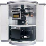 Фото 87: Круглая компактная кухня