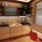 Фото 73: Кухонный гарнитур ос столом-подоконником