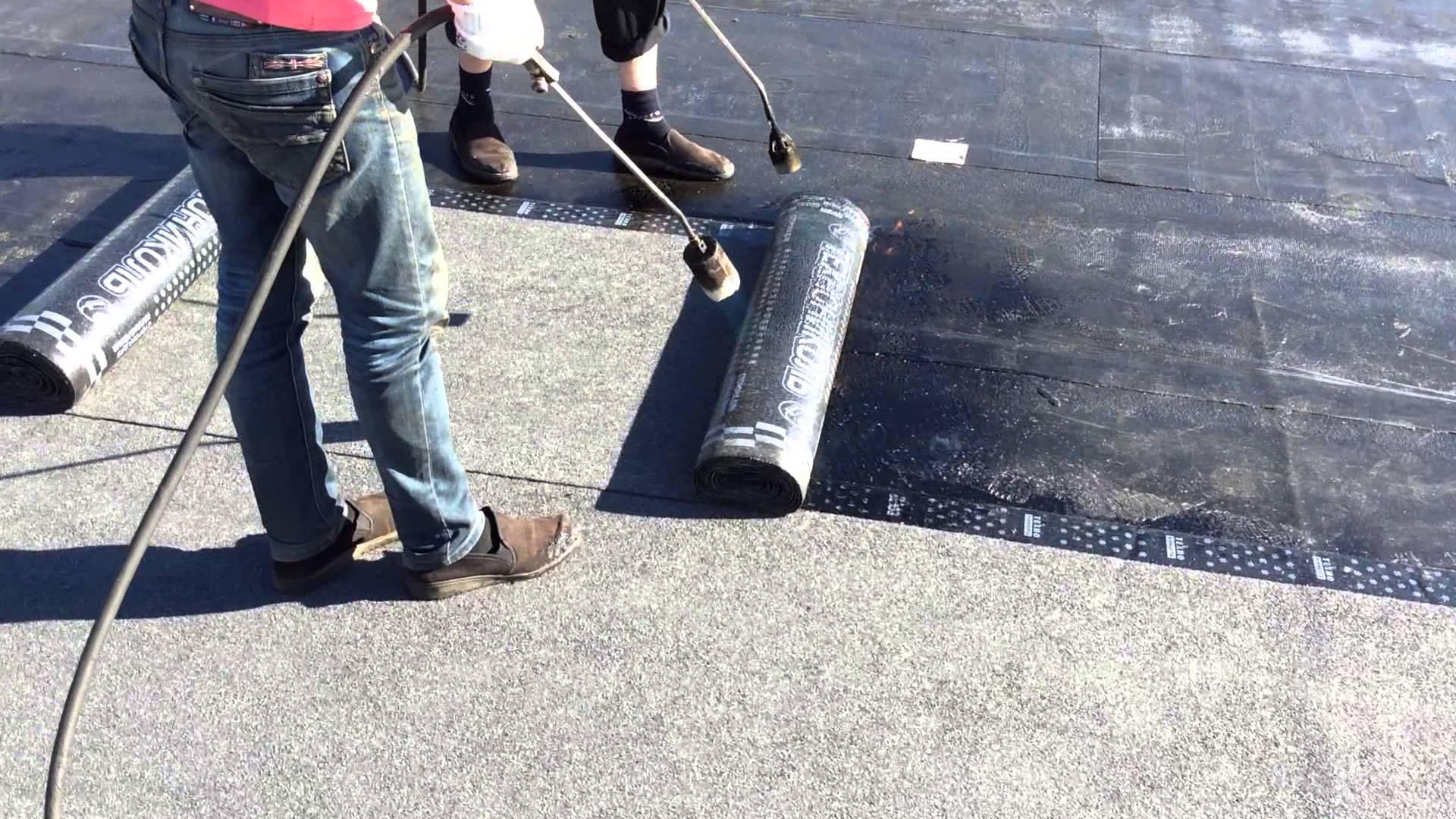 Ремонт рубероидного покрытия