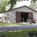 Фото 19: Большой металлический гараж