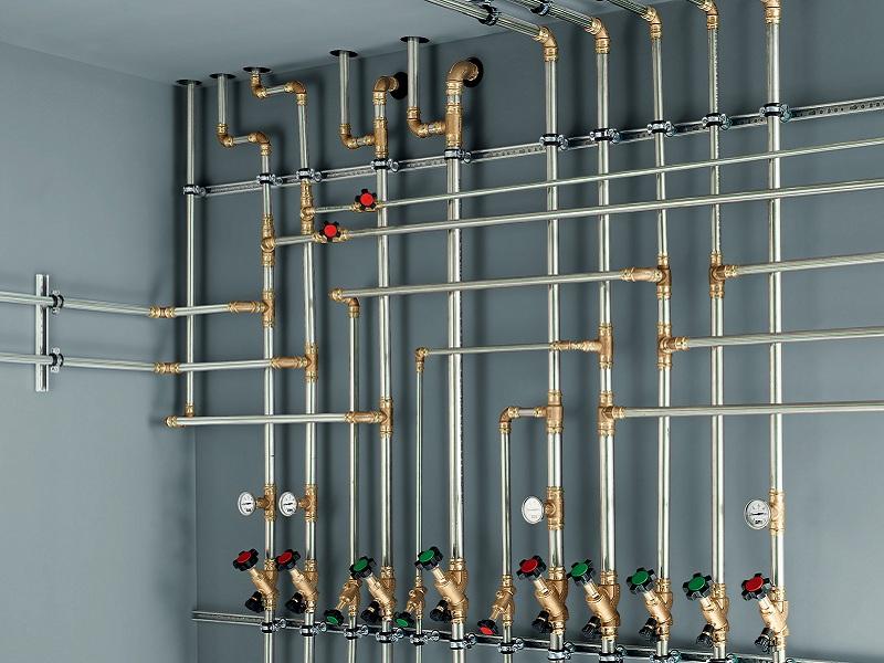 Металлические трубы для отопления