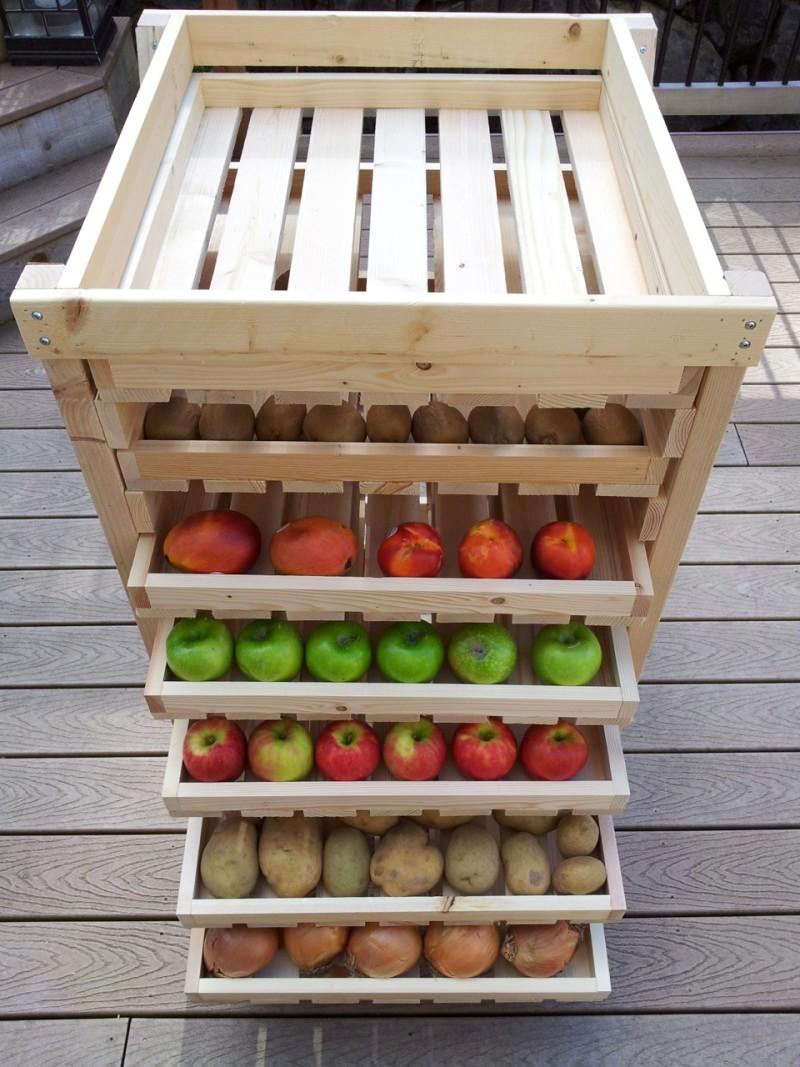 Фото 19: Многоярусный ящик для хранения овощей