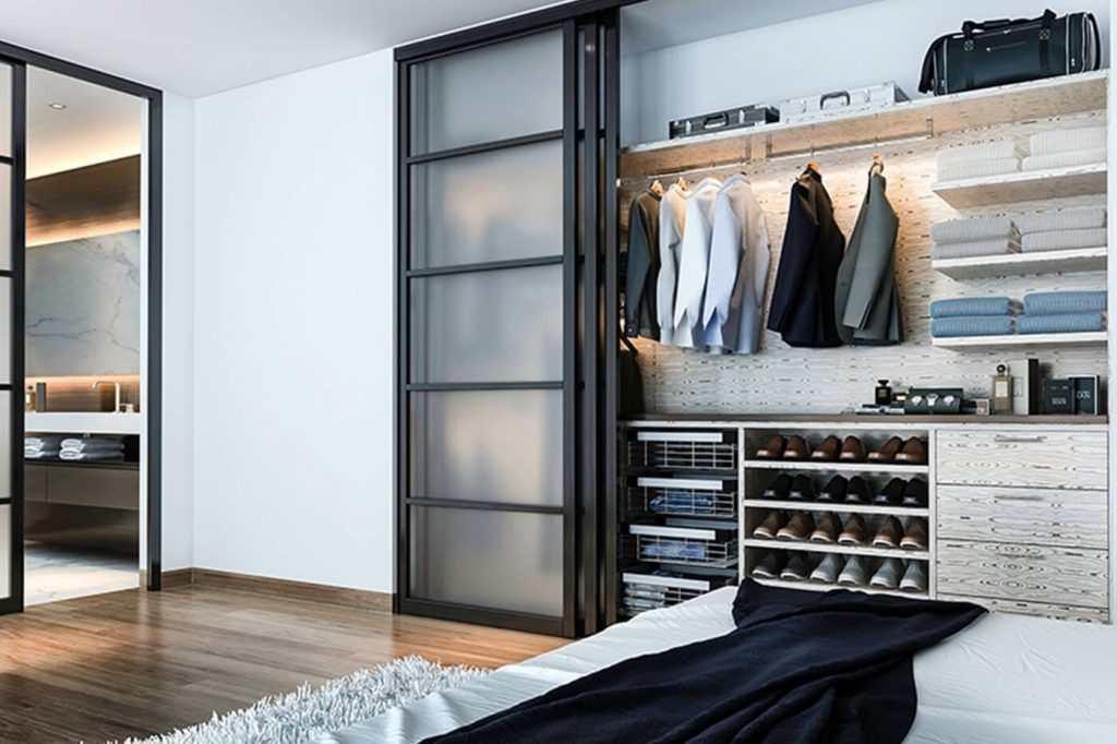 Современный шкаф-купе