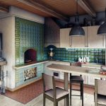 Фото 80: Печь на кухне