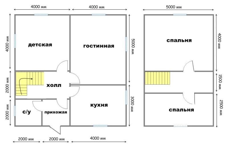 Графит - проект панельно-каркасного дома из СИП панелей от