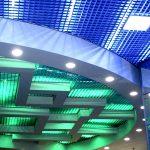 Фото 48: Подсветка потолка грильято