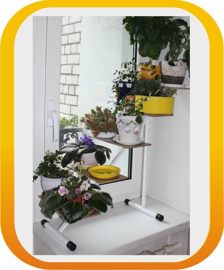 Полка для цветов своими руками на подоконник 24