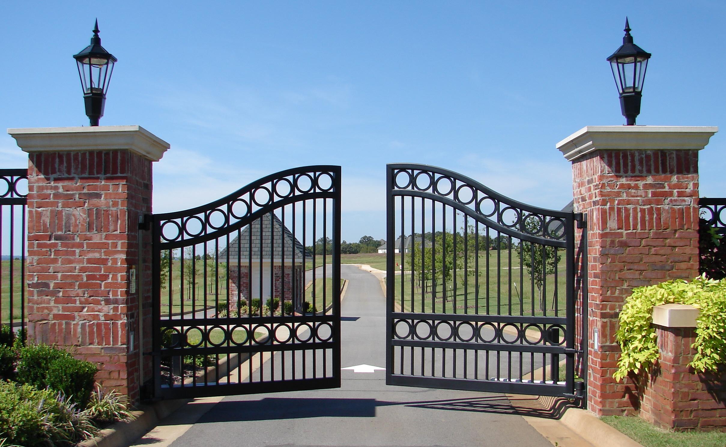 Фото 25: Распашные ворота