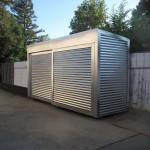 Фото 27: Маленький стальной гараж