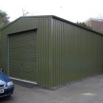 Фото 28: Небольшой зеленый гараж