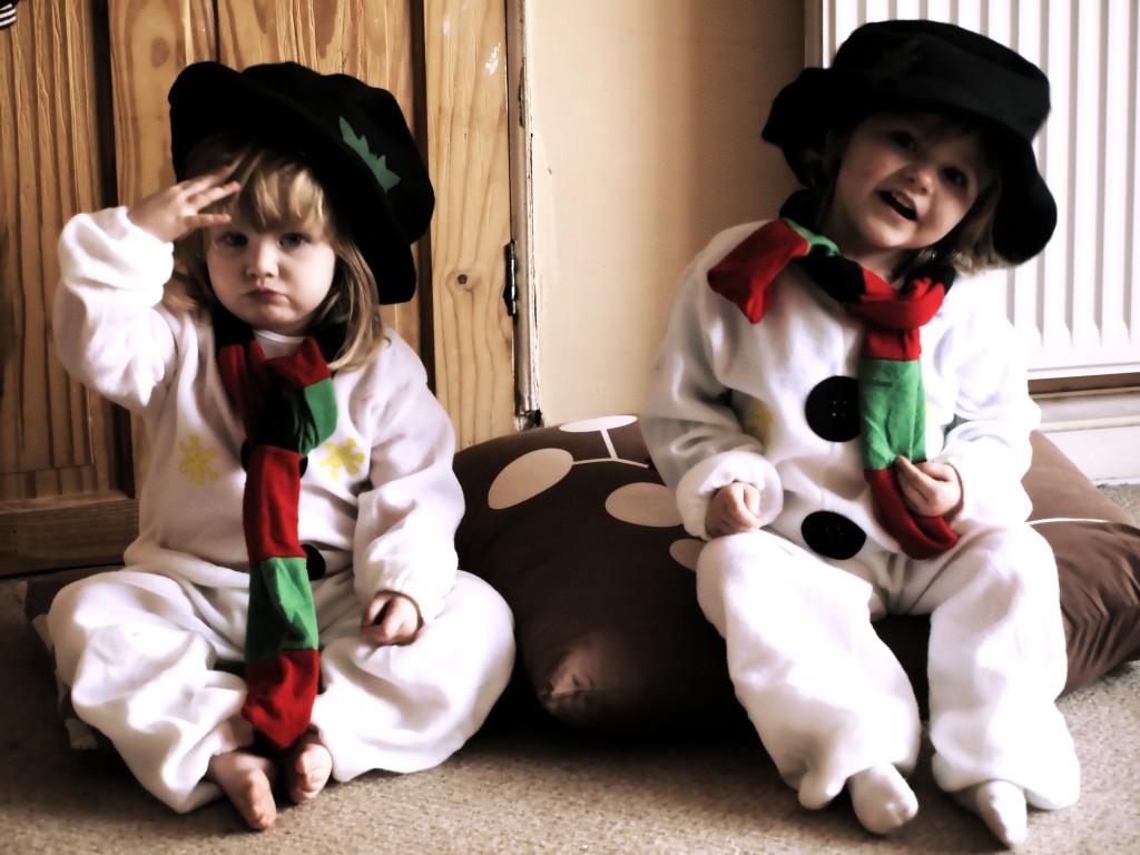 Как сделать костюм снеговика видео фото 458