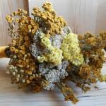 Фото 20: Букет сухоцветов с пижмой