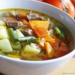 Фото 84: Суп со стручковой фасолью