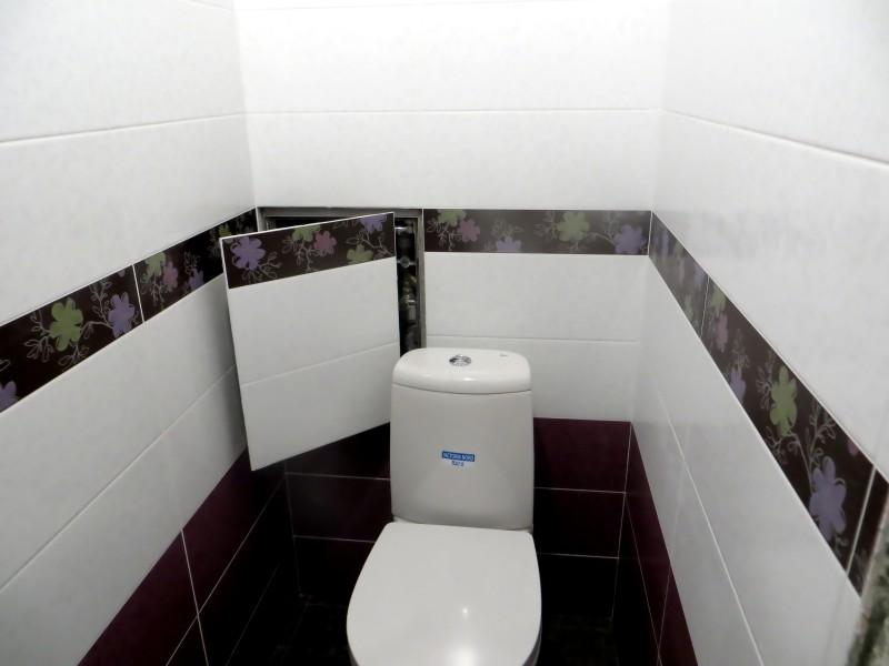 Фото 25: Люк в туалете сдвижной