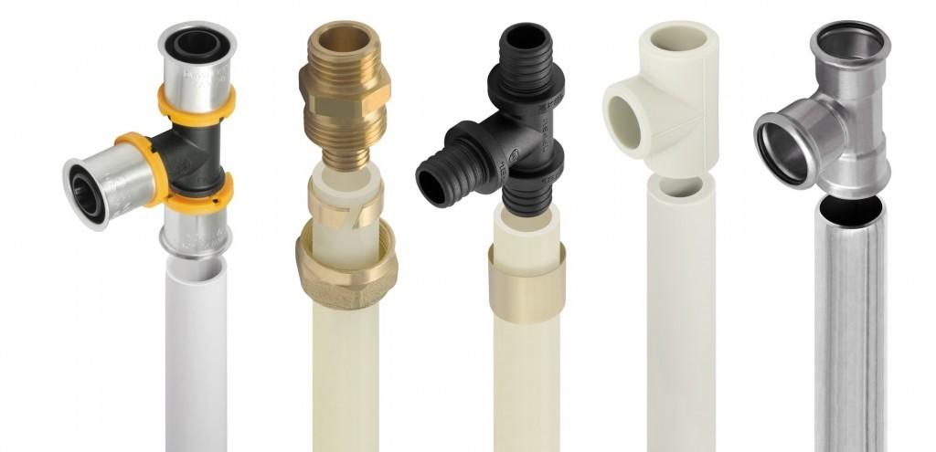 Некоторые виды труб для отопления