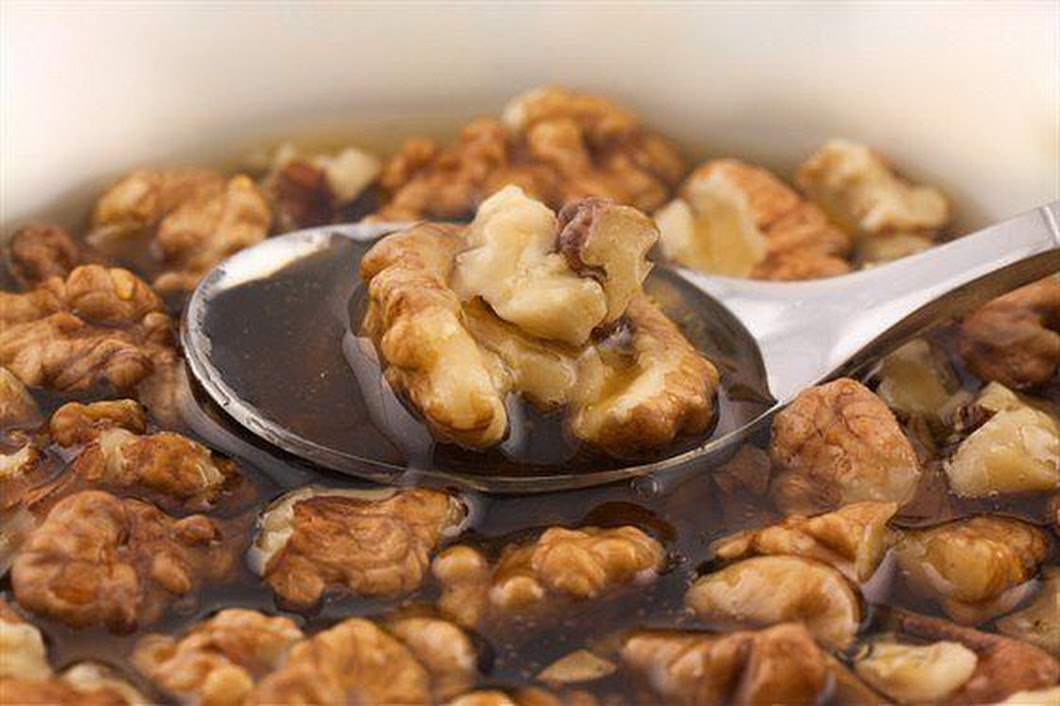 Рецепты меда с грецкими орехами