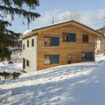 Фото 48: Дом из бруса зимой