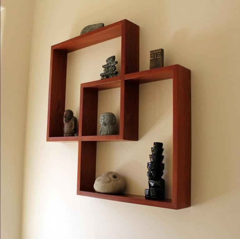 Как сделать красивые полки на стену своими руками