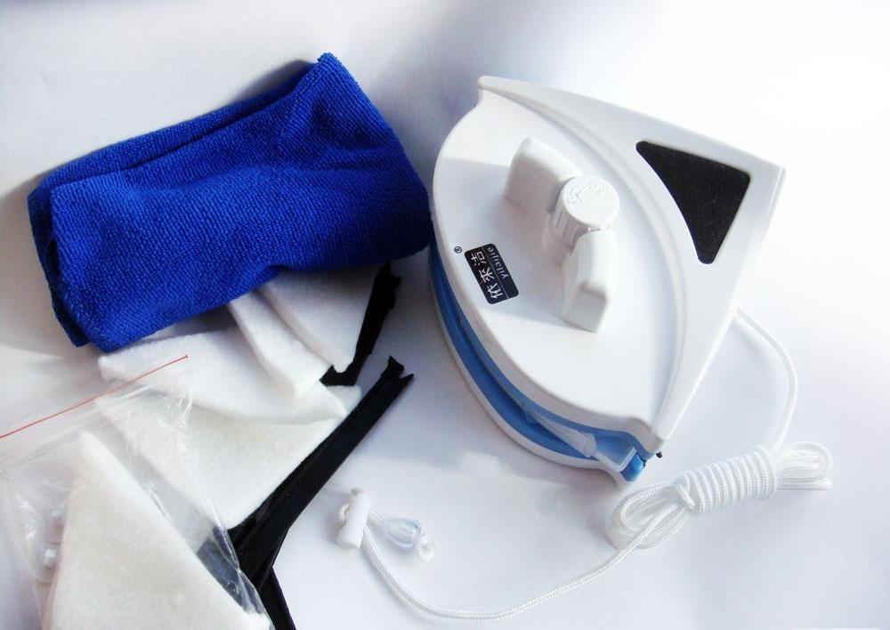 Магнитная щетка для мытья окон с двух сторон от 18-40 мм