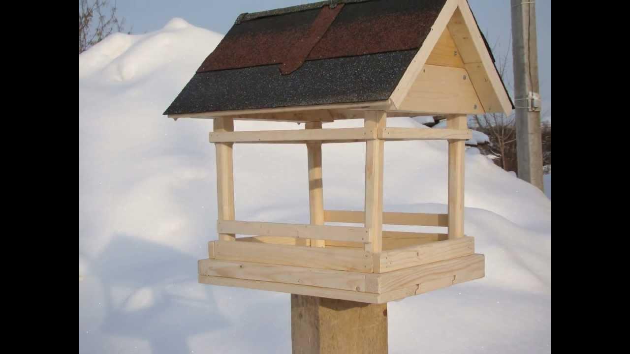 Деревянная кормушка для птиц своими руками чертежи фото 115