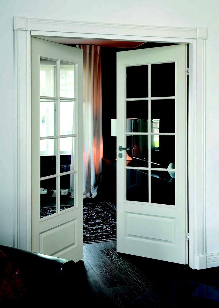 Фото 5: Межкомнатные распашные двери (17)