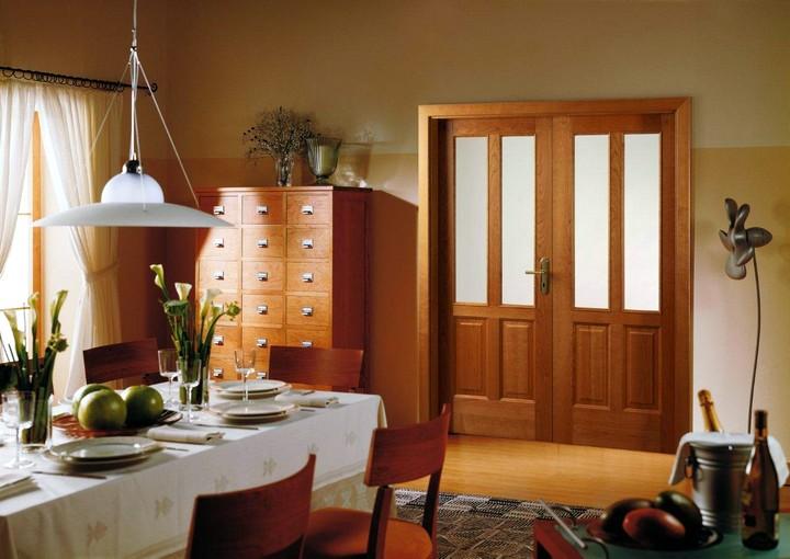 Фото 7: Межкомнатные распашные двери