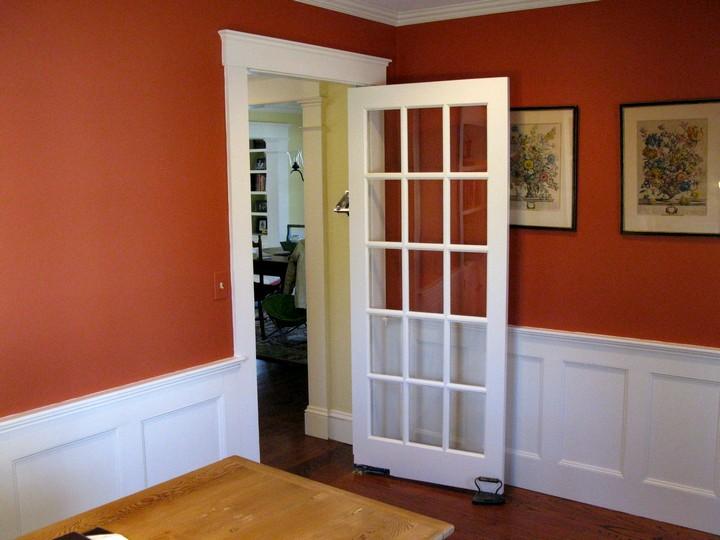 Фото 24: Распашные межкомнатные двери (19)