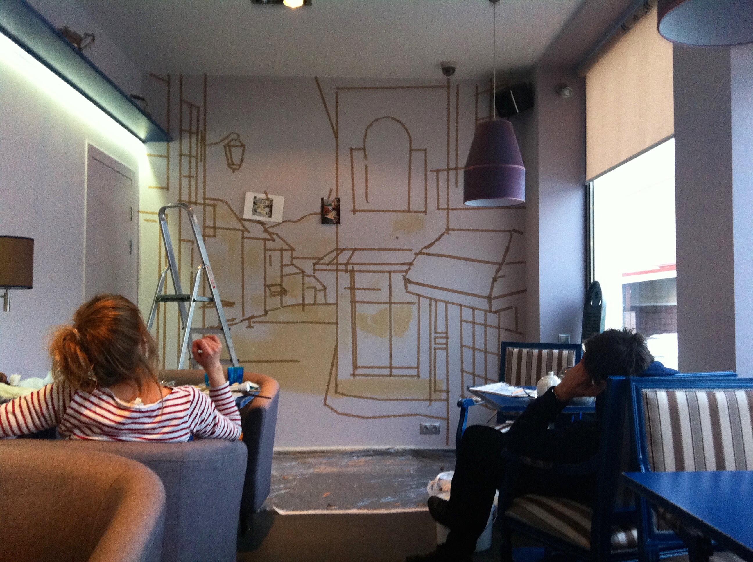 Роспись кафе Женева (4)