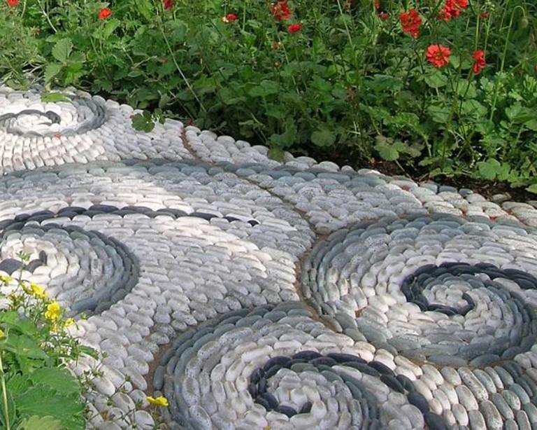 Садовые дорожки фото видео