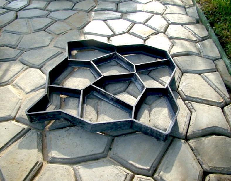 Форма для камня своими руками фото