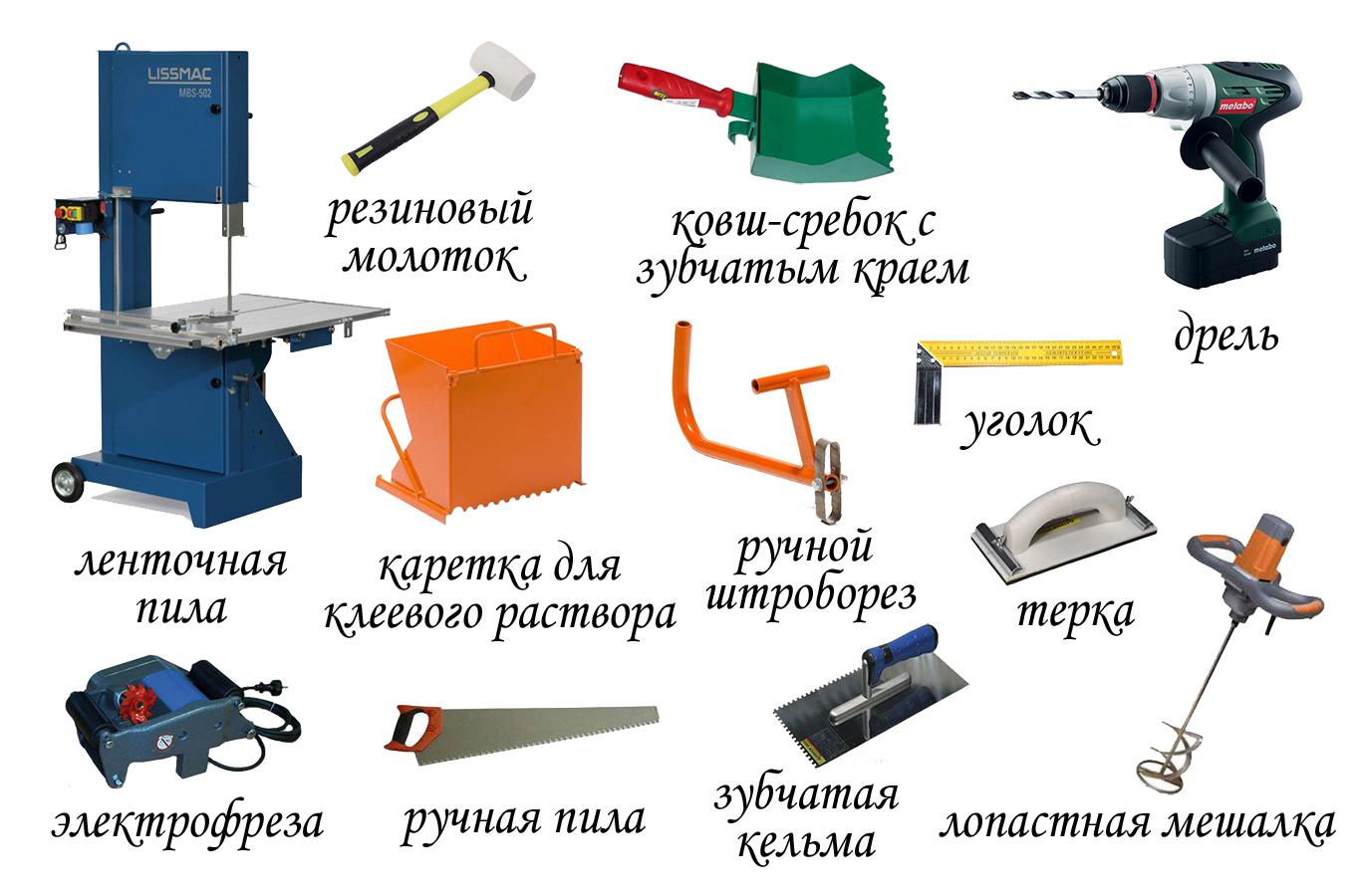 Инструменты для возведения свайно-винтового фундамента