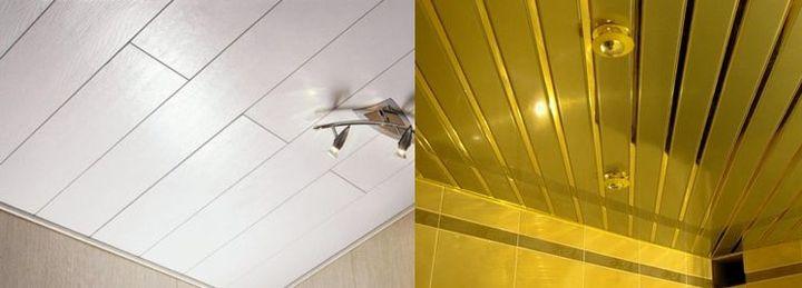 Панели для отделки потолка