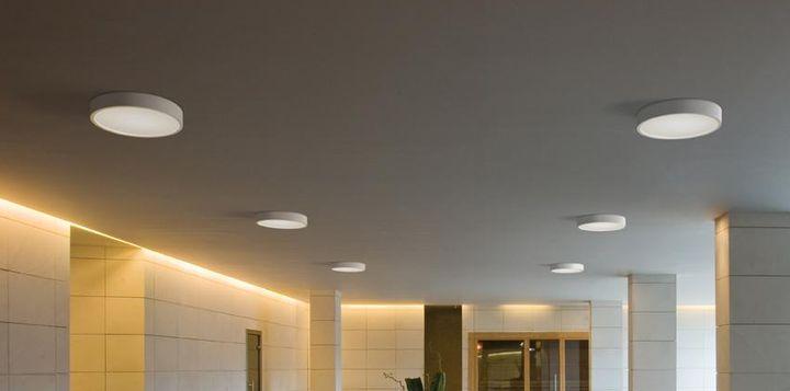 Сдержанный внешний вид светодиодных светильников в интерьере