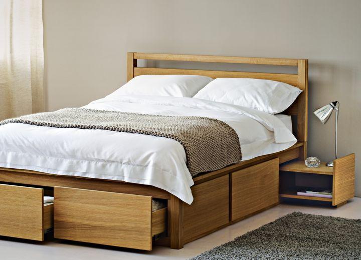 Монолитная система ящиков под кроватью