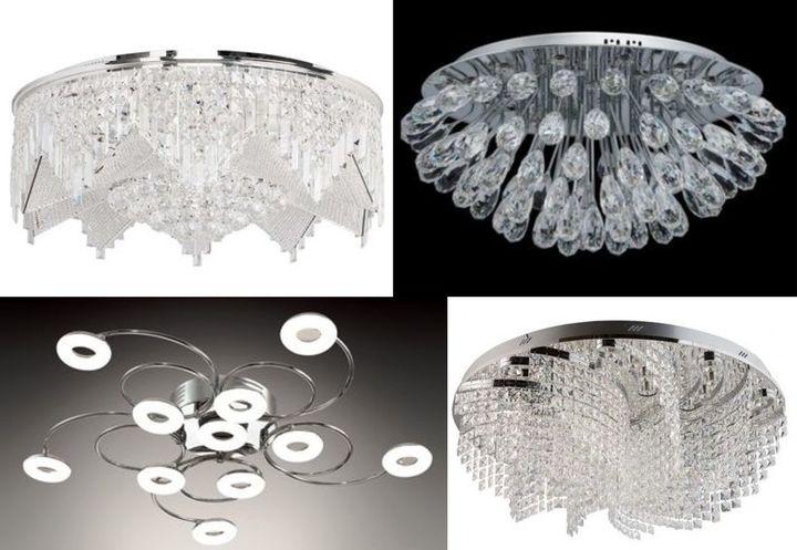 Светодиодные люстры для домашнего использования