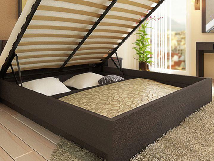 Кровать с поднимающимся ложем