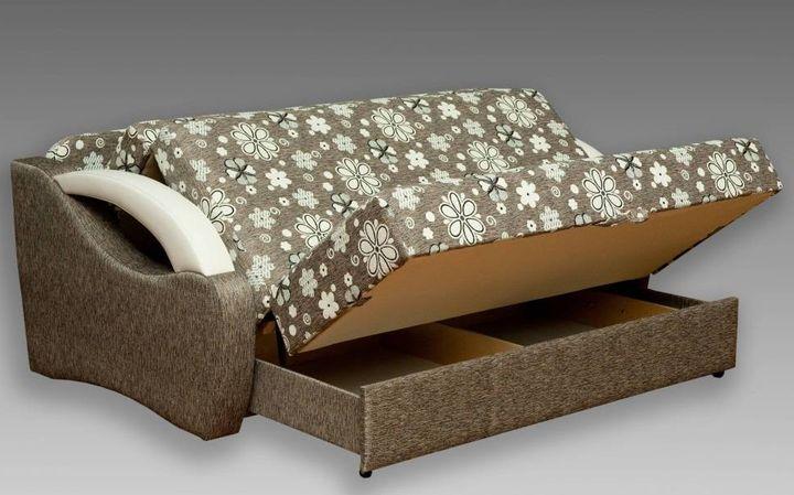 Диван кровать с ящиками для хранения