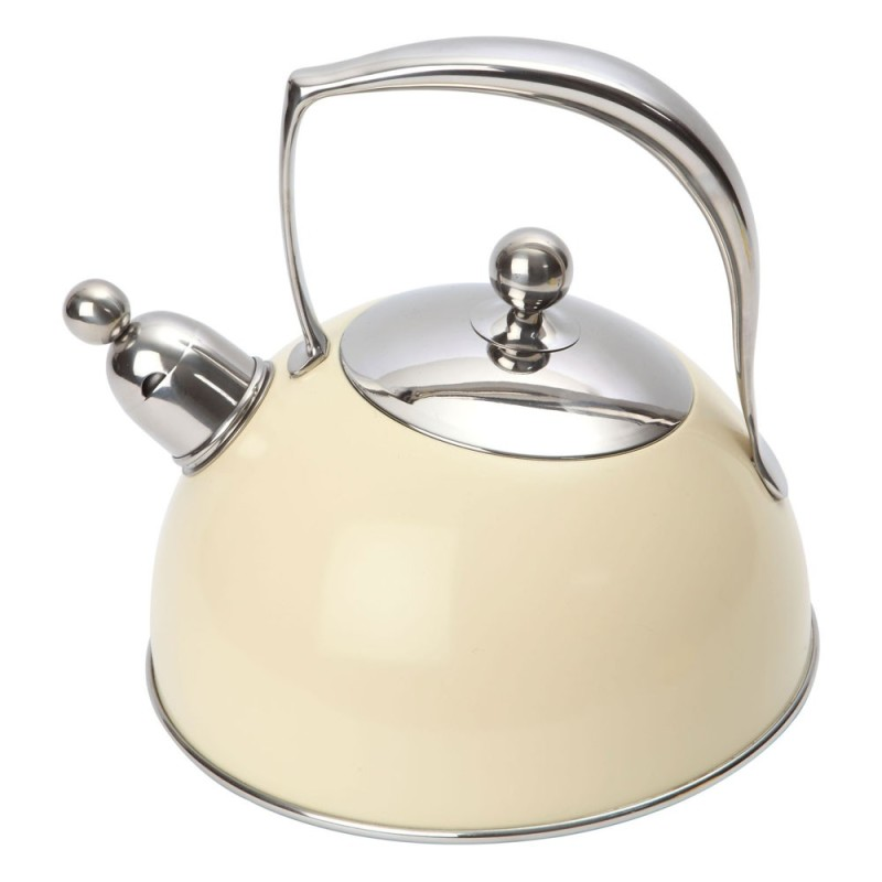Чайник со свистком в стиле ретро