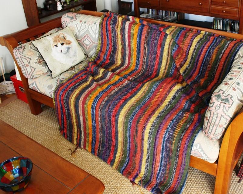 Пледы на диван своими руками фото 6